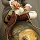 Портретные куклы ручной работы. Портретная кукла Яна и золотая рыбка. Авторская студия 'OleLoo'. Ярмарка Мастеров. акриловые краски