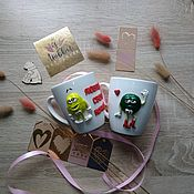 Посуда handmade. Livemaster - original item A couple M&M`s. Handmade.