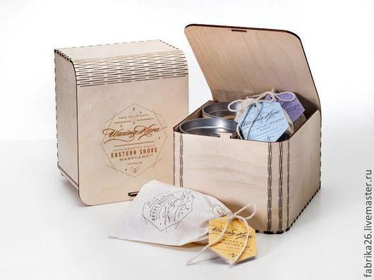 Подарочная упаковка ручной работы. Ярмарка Мастеров - ручная работа. Купить Упаковка для чая. Handmade. Бежевый, упаковка для подарка, подарок