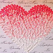 Дизайн и реклама ручной работы. Ярмарка Мастеров - ручная работа Сердце из бабочек. Handmade.
