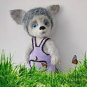 Куклы и игрушки handmade. Livemaster - original item Knitted toy wolf bright. Handmade.