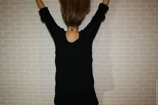 """Платья ручной работы. Ярмарка Мастеров - ручная работа. Купить Платье """"Oversize black Urban"""". Handmade. Платье, платье черное"""