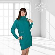 Одежда ручной работы. Ярмарка Мастеров - ручная работа Вязаное платье-свитер. Handmade.