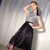 Одежда ручной работы. Ярмарка Мастеров - ручная работа юбка, фатин. Handmade.