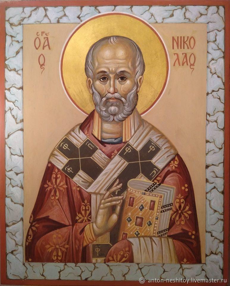 Икона Святителя Николая Чудотворца, Иконы, Москва,  Фото №1
