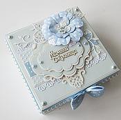 """Подарки к праздникам ручной работы. Ярмарка Мастеров - ручная работа """"Мамины сокровища"""" для мальчика (на 3 коробочки) #223. Handmade."""