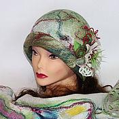 Аксессуары ручной работы. Ярмарка Мастеров - ручная работа Долина плодородия (вариант с бактусом, шляпкой клош). Handmade.