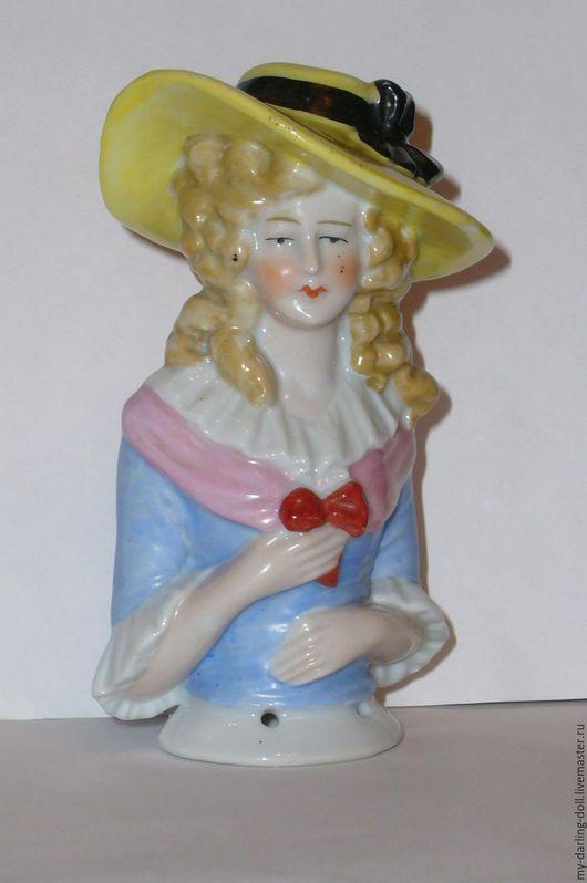 Винтажные куклы и игрушки. Ярмарка Мастеров - ручная работа. Купить ДЛЯ ПРИМЕРА Half doll. Антикварная большая кукла-половинка (1920). Handmade.