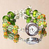 """Украшения ручной работы. Ярмарка Мастеров - ручная работа Часы  """"Green"""". Handmade."""