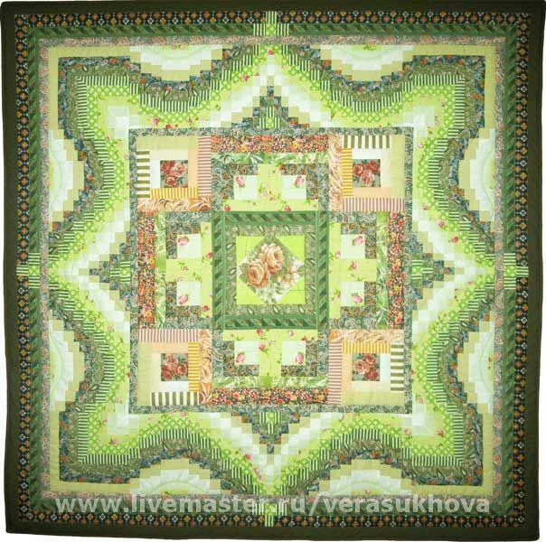 Blanket 'nature's First green' 200х200см, Blanket, Ivanovo,  Фото №1