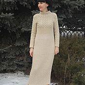 Одежда ручной работы. Ярмарка Мастеров - ручная работа Вязаное платье Кудесница. Handmade.