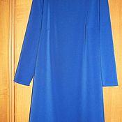 Одежда ручной работы. Ярмарка Мастеров - ручная работа Платье с шелковой отделкой. Handmade.