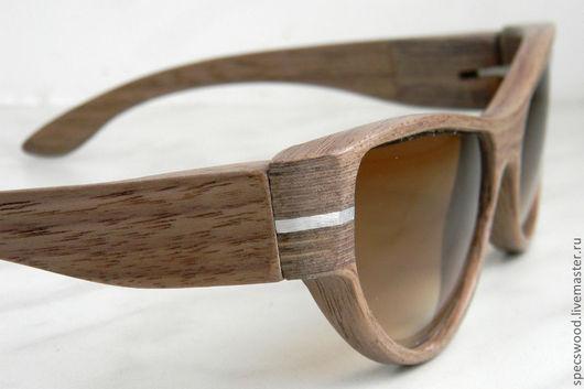 Очки ручной работы. Ярмарка Мастеров - ручная работа. Купить Солнцезащитные очки из дерева Specswood. Handmade. Деревянные очки