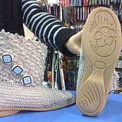 Обувь ручной работы. Ярмарка Мастеров - ручная работа Сапожки на подошве. Handmade.