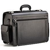 Сумки и аксессуары handmade. Livemaster - original item Leather briefcase-coffer