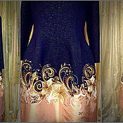 Одежда ручной работы. Ярмарка Мастеров - ручная работа вышивка на крое. Handmade.