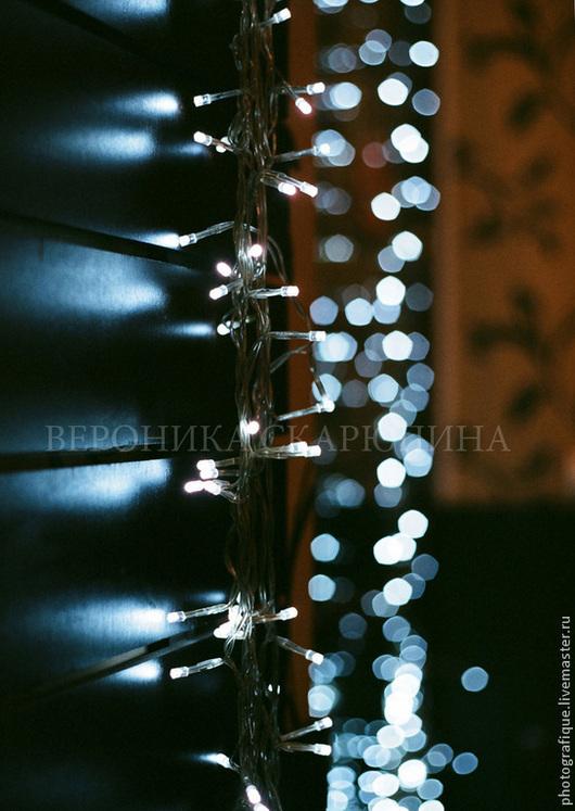 """Фотокартины ручной работы. Ярмарка Мастеров - ручная работа. Купить Фотокартина """"Гирлянда"""". Handmade. Фотография, гирлянда, свет"""
