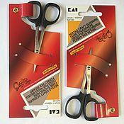 Материалы для творчества ручной работы. Ярмарка Мастеров - ручная работа Японские ножницы Kai 10 см для аппликации и вышивания.. Handmade.