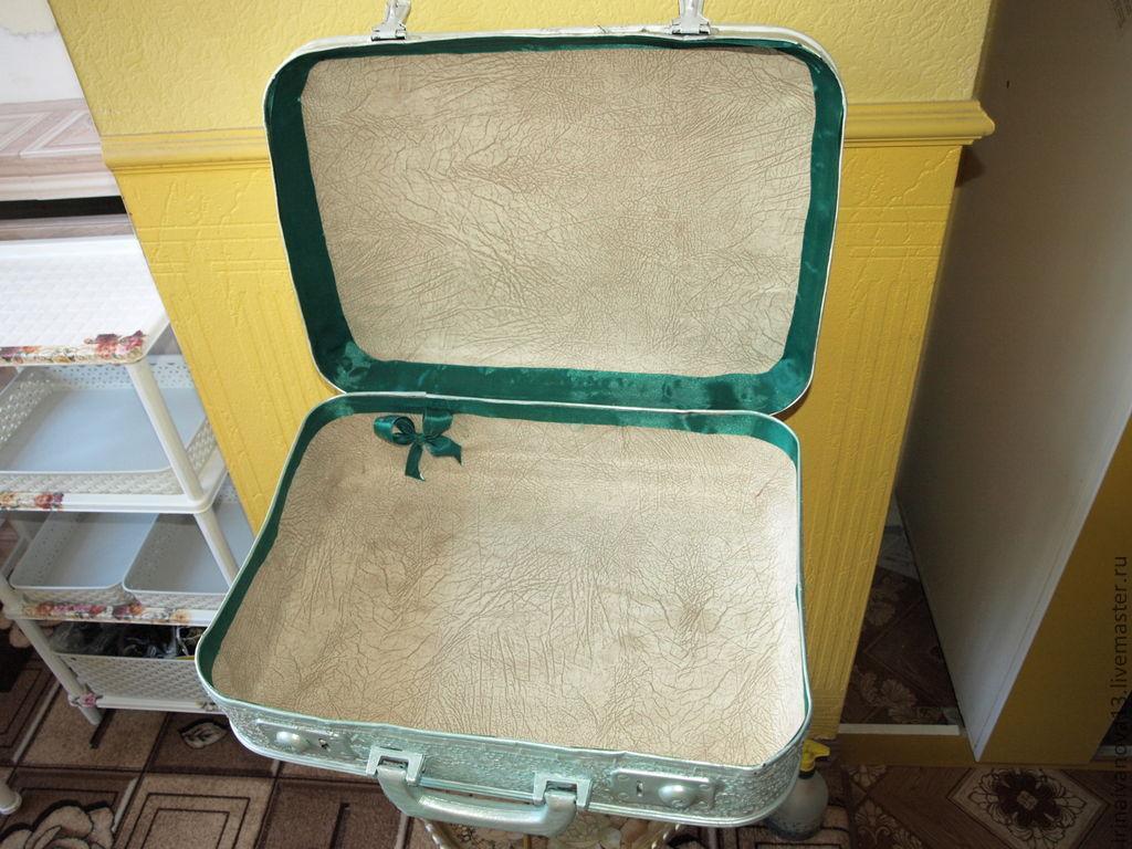 Реставрировать чемодан своими руками