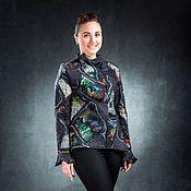 Одежда ручной работы. Ярмарка Мастеров - ручная работа Жакет из шерсти Мерцание. Handmade.