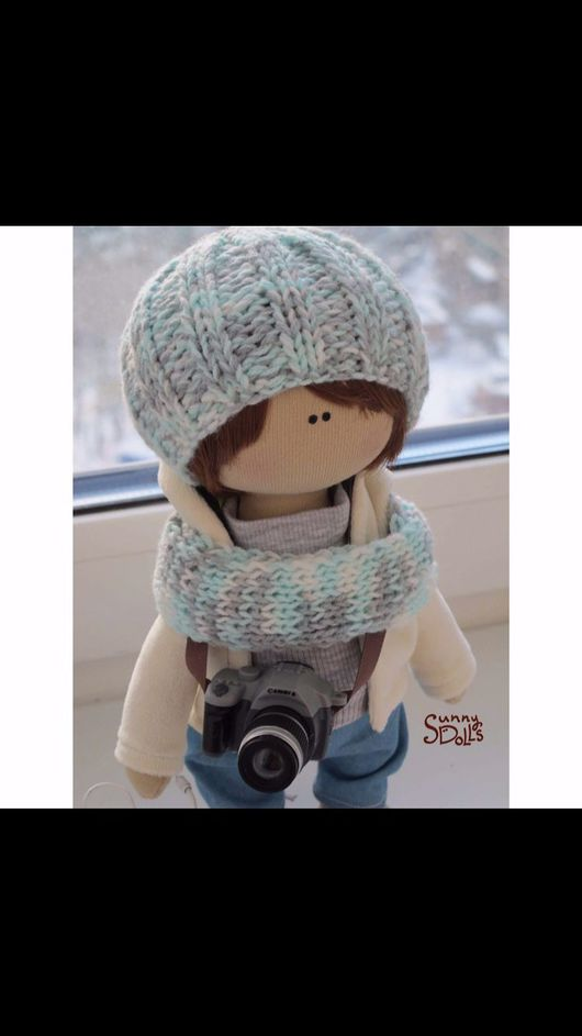 Коллекционные куклы ручной работы. Ярмарка Мастеров - ручная работа. Купить Текстильная куколка. Handmade. Текстильная кукла, кукла в подарок