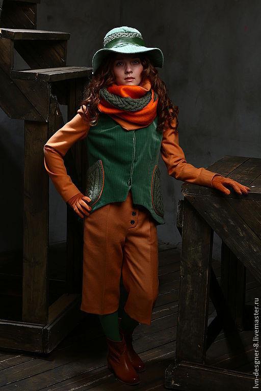 "Дизайнерские шорты-гаучо.  "" LVN ""  Natali Leskovaya"