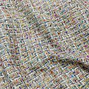 Ткани ручной работы. Ярмарка Мастеров - ручная работа Ткань Шанель. Handmade.