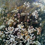 Картины и панно ручной работы. Ярмарка Мастеров - ручная работа Цветочная композиция. Handmade.