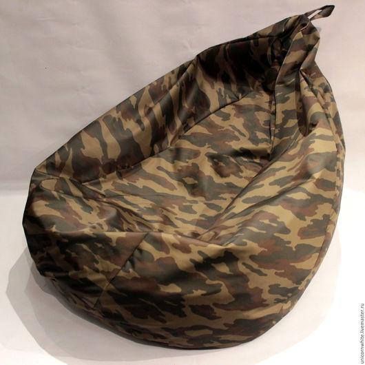 Мебель ручной работы. Ярмарка Мастеров - ручная работа. Купить Кресла - мешки. Handmade. Комбинированный, оранжевый цвет, зеленый цвет
