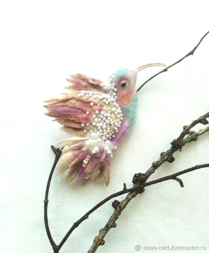 Pin Brooch:Birdie, Brooches, Novosibirsk,  Фото №1