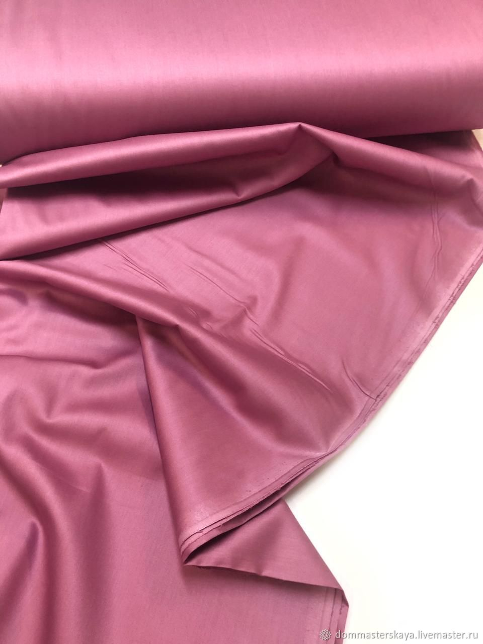 Satin violet, Turkey 240, Fabric, Moscow,  Фото №1