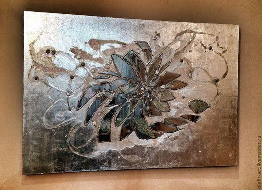 Абстракция ручной работы. Ярмарка Мастеров - ручная работа. Купить Грани. Handmade. Картина в подарок, панно на стену, мозаика, подарок