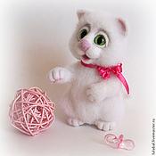 Куклы и игрушки ручной работы. Ярмарка Мастеров - ручная работа Кошечка Ляля. Handmade.