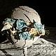 Интерьерные композиции ручной работы. Ярмарка Мастеров - ручная работа. Купить Весна идет.... Handmade. Голубой, цветочная композиция, цветы