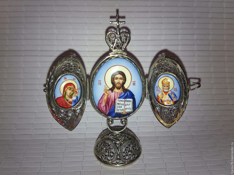 Пасхальное яйцо финифь, Подарки на Пасху, Ярославль, Фото №1