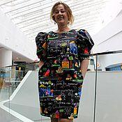 """Одежда ручной работы. Ярмарка Мастеров - ручная работа Платье """"Mamma mia"""" из хлопка Dolce Gabbana. Handmade."""