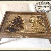 Сувениры и подарки handmade. Livemaster - original item Tray table