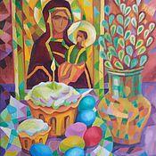Картины и панно handmade. Livemaster - original item The Resurrection Of Christ. Handmade.