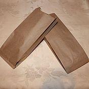 Пакеты ручной работы. Ярмарка Мастеров - ручная работа Крафт-пакет  V - обр.  21х8х5см. Handmade.