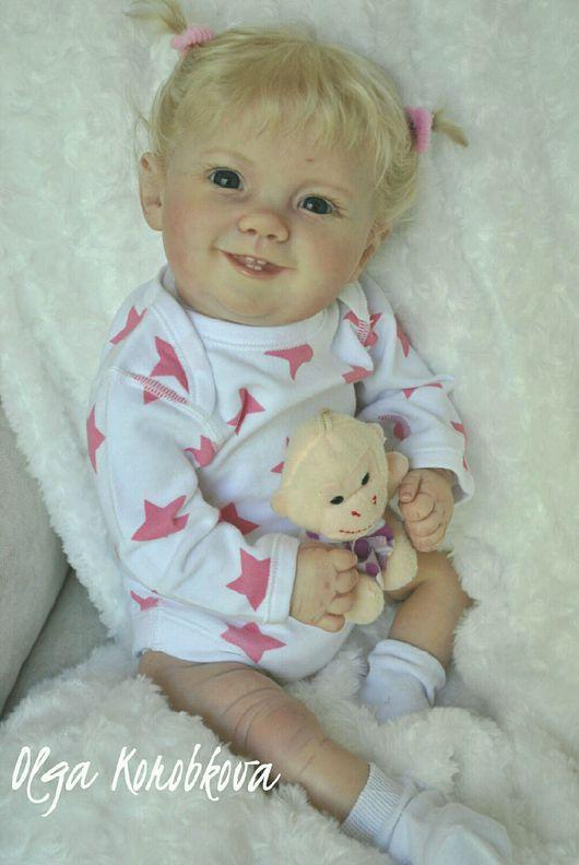 Куклы-младенцы и reborn ручной работы. Ярмарка Мастеров - ручная работа. Купить Кукла реборн из молда Эмилия. Handmade. холлофайбер