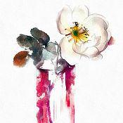 Картины и панно handmade. Livemaster - original item Paintings of flowers. Watercolor. Handmade.