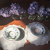 Винтаж handmade. Livemaster - original item candle holders 2 PCs. Villeroy&Boch Botanica, Luxembourg. Handmade.