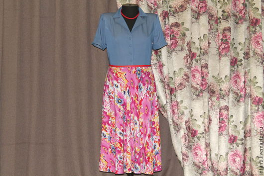 Платья ручной работы. Ярмарка Мастеров - ручная работа. Купить Платье. Handmade. Платье, красивая одежда, intanti, разноцветный