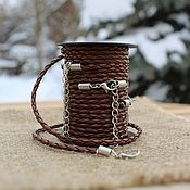 Материалы для творчества handmade. Livemaster - original item Braided cord for pendant.Zam. 45 cm. Handmade.