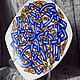 Кельтское блюдо со змеями. Блюдо. RognedaCraft. Ярмарка Мастеров.  Фото №4