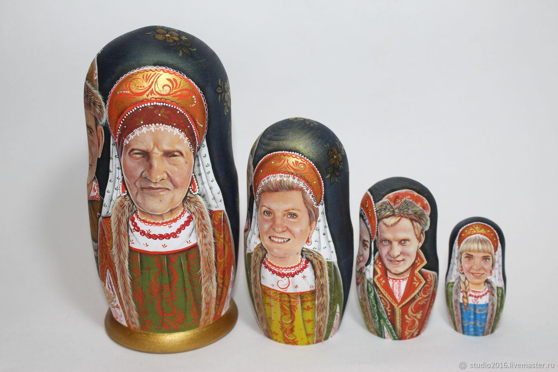 матрешка, Именные сувениры, Москва,  Фото №1