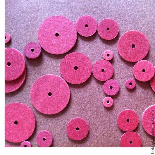 Куклы и игрушки ручной работы. Ярмарка Мастеров - ручная работа. Купить диски для мишек - тедди. Handmade. Бордовый, диски