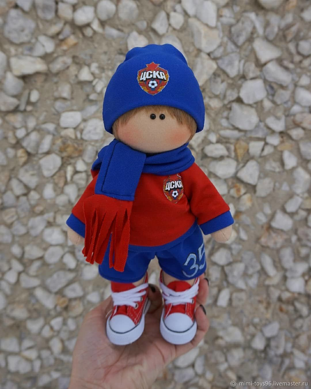 Кукла футболист, Куклы и пупсы, Верхняя Пышма,  Фото №1