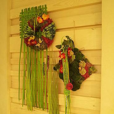 Дизайн и реклама ручной работы. Ярмарка Мастеров - ручная работа Флористическое интерьерное оформление Летние травы. Handmade.