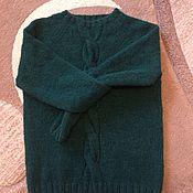 """Одежда ручной работы. Ярмарка Мастеров - ручная работа Свитер""""Emerald cloud"""". Handmade."""